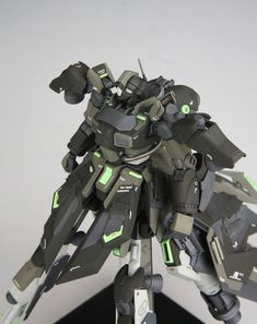 Gerbera-Qunit - Custom Build Modeled by 어쩌라구우웃 Robotech Macross, Man Of War, Frame Arms, Mecha Anime, Gundam Model, Mobile Suit, Gerbera, Model Building, Sculptures