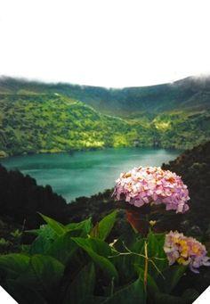 azores - flores- lagoa comprida