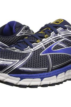 9fa27837083 Brooks Defyance 9 (Peacoat Surf The Web Lemon Chrome) Men s Running Shoes