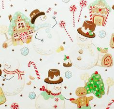 The Cotton Blossom Fabric Shoppe Christmas Fabric, Christmas Time, Holiday, Candy Pictures, Cotton Blossom, Alexander Henry Fabrics, Cute Candy, Candyland, Gingerbread Cookies