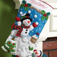 making embroidered christmas stocking - Google Search