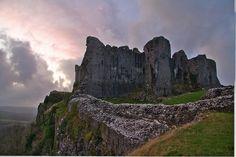 Carreg Cennen Castle, Wales UK