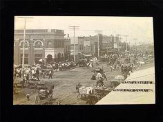 Early 1900s RPPC Ponca City Oklahoma Street View Real Photo Postcard | eBay