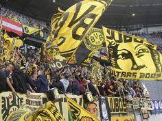 Bilder der Partie Wolfsberg gegen Dortmund.