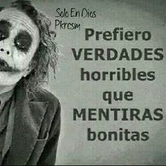 Joker Frases, Joker Quotes, Cute Spanish Quotes, Inspirational Phrases, Life Thoughts, Madly In Love, Joker And Harley Quinn, Friendship Quotes, Sad