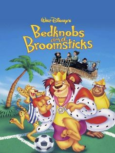 Bedknobs and Broomsticks (Starring: Angela Lansbury, David Tomlinson; Directed by: Robert Stevenson; Runtime: 2 hours 20 minutes; Release year: 1971)