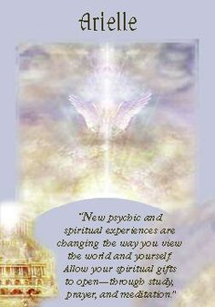 Oracle Card Arielle | Doreen Virtue | official Angel Therapy Web site