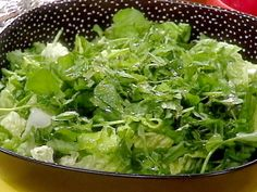 Watercress Salad with Lime Dressing Recipe : Rachael Ray : Food Network - FoodNetwork.com