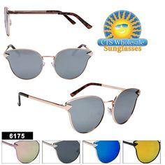 13bad7f153 Women s Cat Eye Sunglasses in Bulk - Style  6175 (Assorted Colors) (12 pcs.)