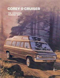 1971 Dodge Corey Cruiser Conversion Van Brochure. Is that Syd Mead's signature at the bottom?