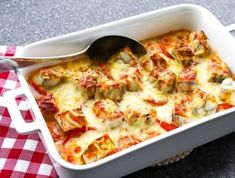 Lasagna, Quiche, Koti, Cauliflower, Food And Drink, Vegetables, Breakfast, Ethnic Recipes, Lasagne