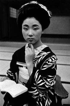 A night with a geisha series, Japan - 1956