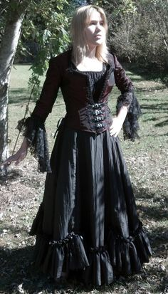 5f480a2ee2 Victorian Couture -Vamp- Steampunk ensemble one of a kind (sample)