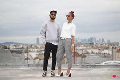 J'aime tout chez toi - Paris rooftop - French fashion couple