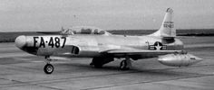 Lockheed F-94 Starfire. 855 total Starfires were produced, in three seperate models.