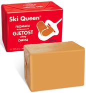 Ski Queen cheese (Apparently it's one of the things I will try in Norway)