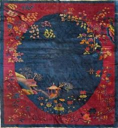 CHINESE CARPETS | ... Oriental carpets , Atticmag , Chinese Art Deco carpets , Oriental rugs
