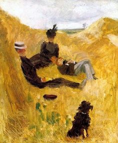 Henri de Toulouse-Lautrec / Party in the Country