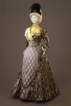 Worth day dress ca. 1897-99 From the Galleria del Costume di Palazzo Pitti via Europeana Fashion