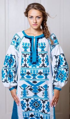 SamaFaina Vyshyvanka Ukrainian beauty folk fashion