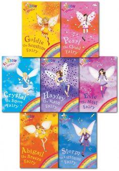 Rainbow Magic Series 2 Weather Fairies Collection of 7 Books by Daisy Meadows  #RainbowMagic #Magic #Fairy #Fairies #WeatherFairies #Book #ChildrensBook #FairyBook   http://www.snazal.com/rainbow-magic--series-2-weather-fairies-collection-7-books-p--DEALMAN-U11-WeatherFairies-7bks(8-14).html