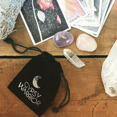 the wild unknown tarot Crystals Minerals, Rocks And Minerals, Gypsy Warrior, Crystal Healing, Tarot, Pretty, Gifts, Decks, Inspiration