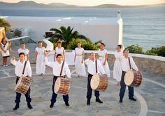 Artist performance at the amphitheater - Mykonos Grand Hotel & Resort Mykonos Luxury Hotels, Myconos, Mykonos Island, Outdoor Stone, Luxury Holidays, Social Events, Grand Hotel, Holiday Destinations, Resort Spa