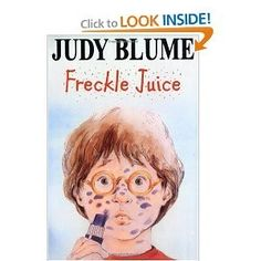 Freckle Juice reading-for-the-youngins