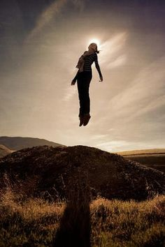 Magic Photo Of Flying People