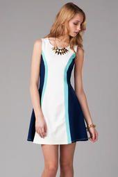 Quinn Color Block Dress