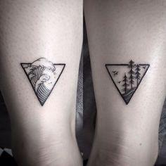 tatouage cheville tatouage géométrique tatouage original petit