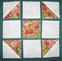 Shoo Fly Quilt Block Pattern