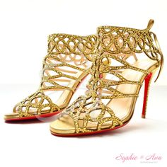 Glam up your shoes with Swarovski Crystals  by SophieAndAva, $840.00