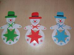 barevní sněhuláci
