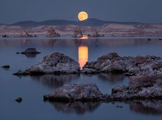 """As we look at the Moon on such an occasion, it's worth remembering that the Moon is more than just a celestial neighbor. The geologic history of the Moon and Earth are intimately tied together such that the Earth would be a dramatically different planet without the Moon."""" ~ John Keller - A Rare Christmas Full Moon Sheds Light on 2016."""
