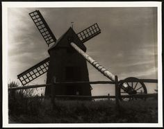 Commonwealth, Nantucket, Windmill, Cannon, 1930s, Holland, Survival, Old Things