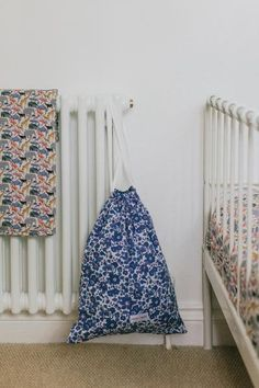 Liberty Print Baby Blanket - Queue for the Zoo Yellow