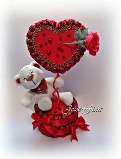 Valentines Gift Box, Valentine Crafts, Craft Gifts, Diy Gifts, Pop Up Flower Cards, Disney Diy Crafts, Valentine's Day Gift Baskets, Wedding Gift Wrapping, Edible Crafts