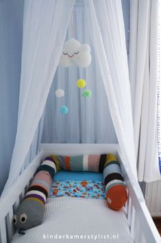 Inspiratie #babykamer #jongen | Kinderkamerstylist