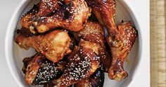 These sticky drumsticks taste delicious but they are so simple and quick to prepare.