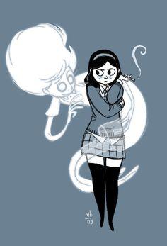 O fantasma de Anya - por Vera Bee