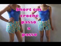 SHORT CHARME EM CROCHÊ 1ª PARTE - YouTube