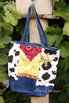 Toy Story Tote Bag by WhitneyBoutique on Etsy, $16.95