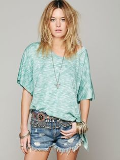 Free People We The Free Big Moment Tee at Free People Clothing Boutique