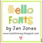Adorable fonts by a teacher!!!  FREE!  She also offers an inexpensive commercial license.