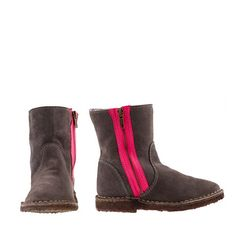 J.Crew - Girls' neon zipper chalet boots