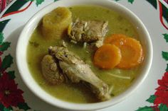 Mari's Cakes: Sopa de pollo Dominicana al estilo Mari!