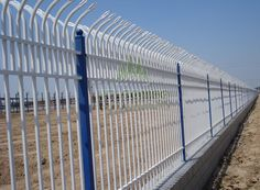 Bent Top Surface:Hot dipped galvanized&Powder coating Other size are available Palisade Fence, Door Gate Design, Steel Fence, Fence Gate, Powder Coating, Galvanized Steel, Surface, Pasta, Popular