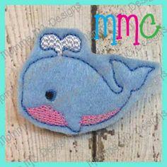 Whale Feltie