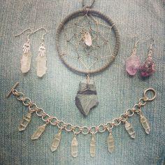 Jewellery by Marlee Cheyanne Watts https://www.etsy.com/ca/shop/MarleeCWatts?ref=si_shop